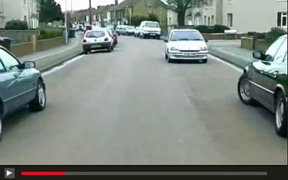Practice Hazard perception test clip official